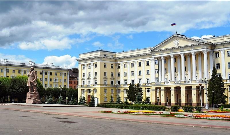 Площадь Ленина Смоленск