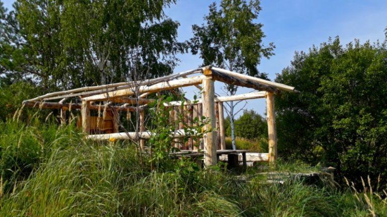 Лагерь археологов в Хотылёво
