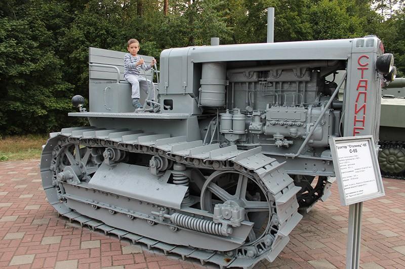 Партизанская поляна трактор