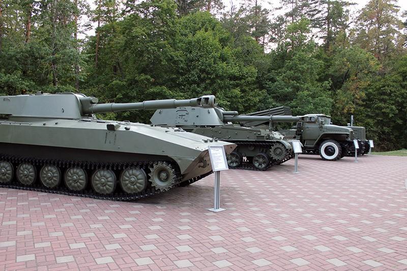 Партизанская поляна танк