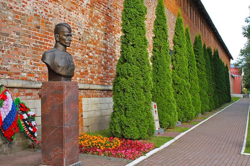 аллея городов-героев Великой Отечественной войны