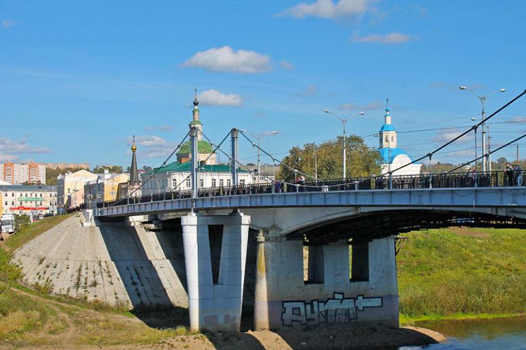 Центральный мост Смоленск