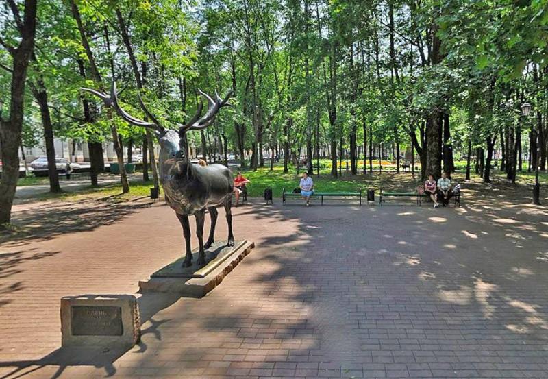 Олень в Смоленске
