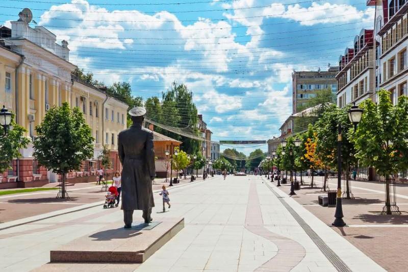 Бульвар Гагарина Брянск