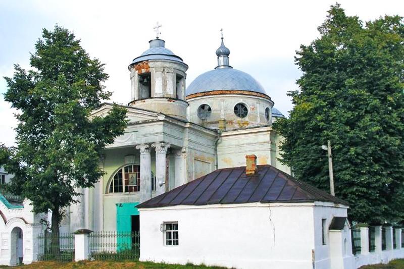 Церковь успения Пресвятой Богородицы в селе Радогощь