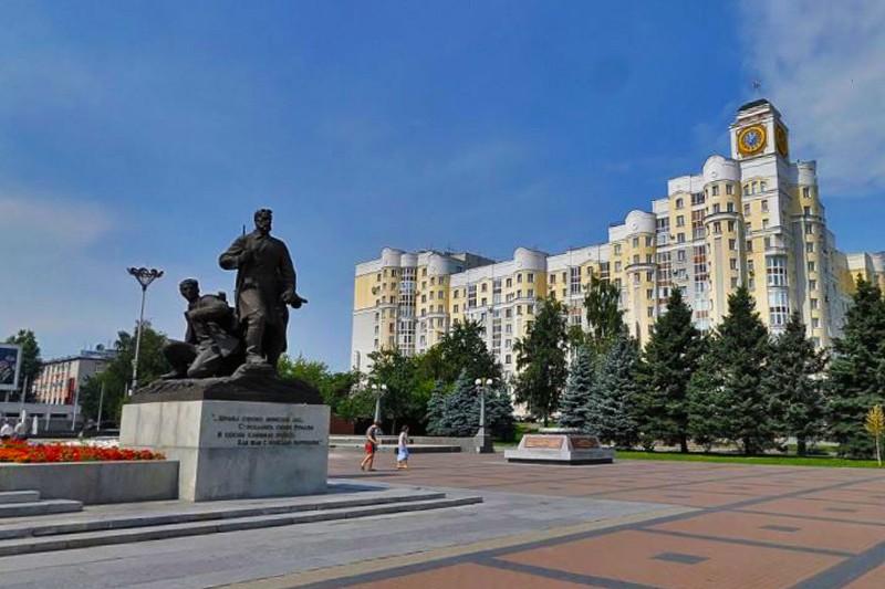 Площадь партизан Брянск