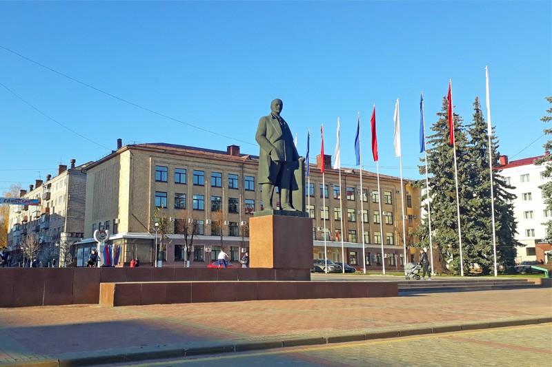 Площадь Ленина Брянск