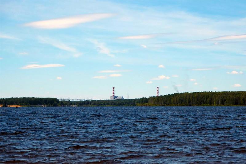 Десногорское водохранилище и АЭС