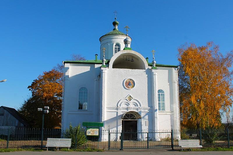 Троицкий Храм Голубея