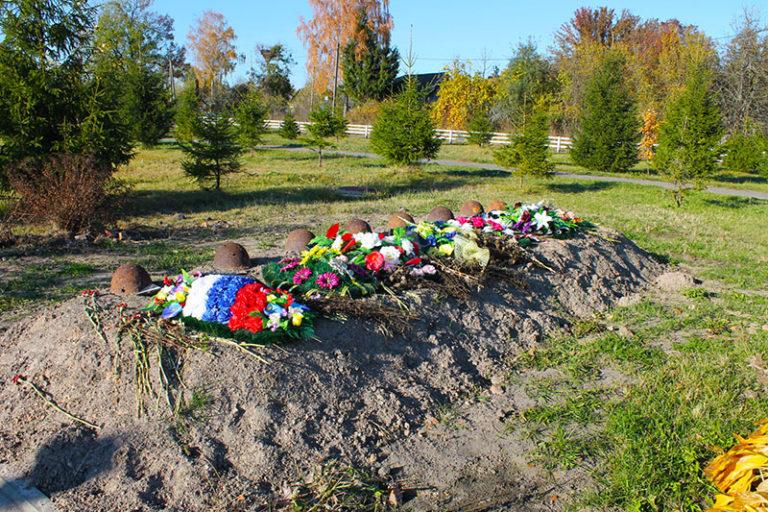 Братская могила Голубея