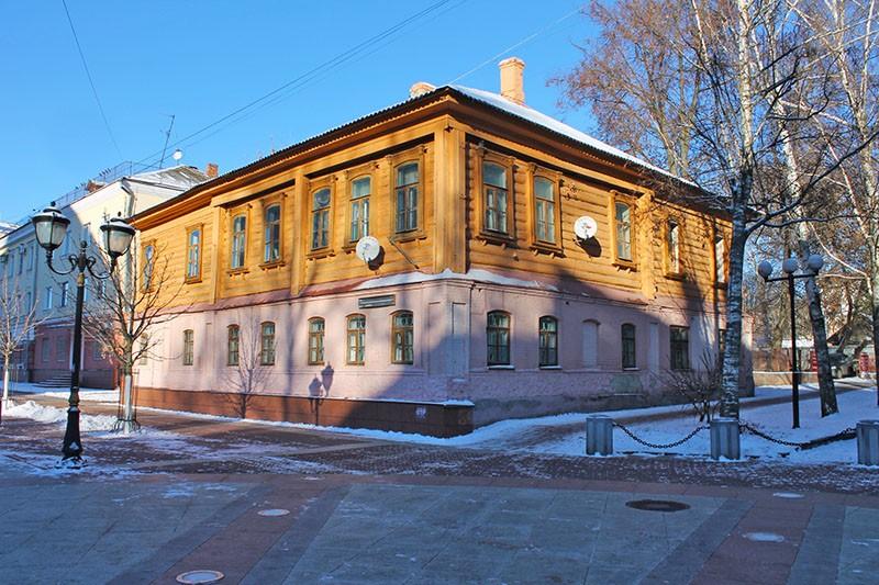Жилой дом 1886 год Брянск