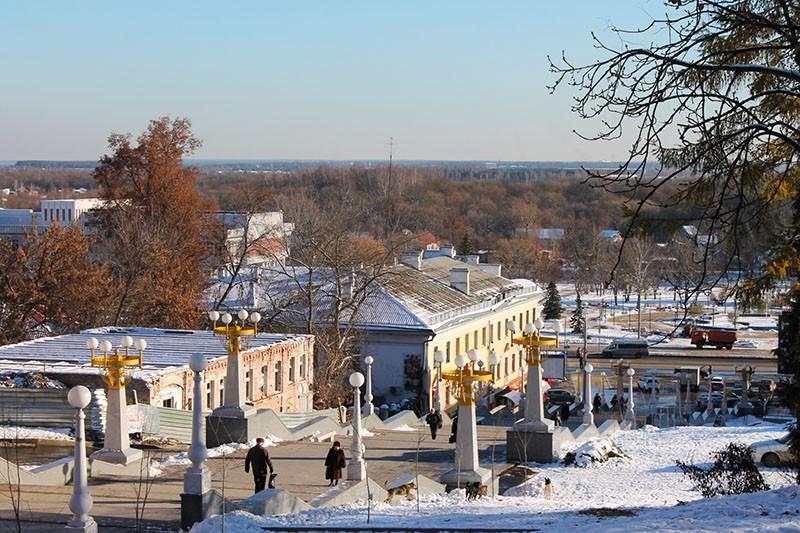 Лестница бульвара Гагарина