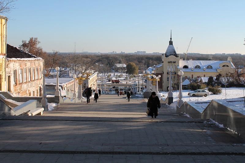 Лестница бульвар Гагарина