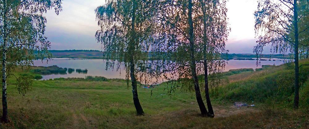 Река Госомка в селе Госома