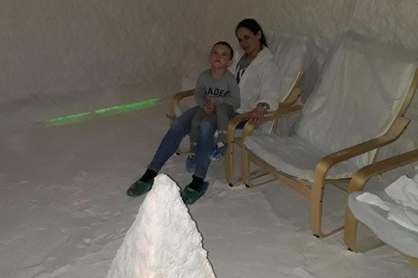 соляная пещера Салынь