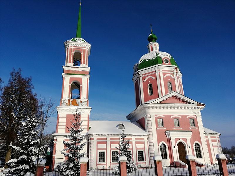 Успенская Церковь в Овстуге