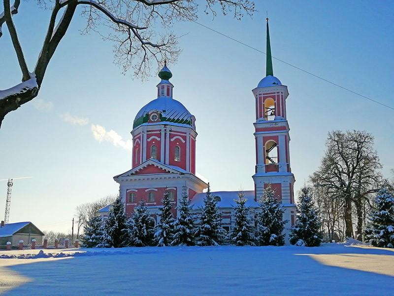 Церковь в Овстуге