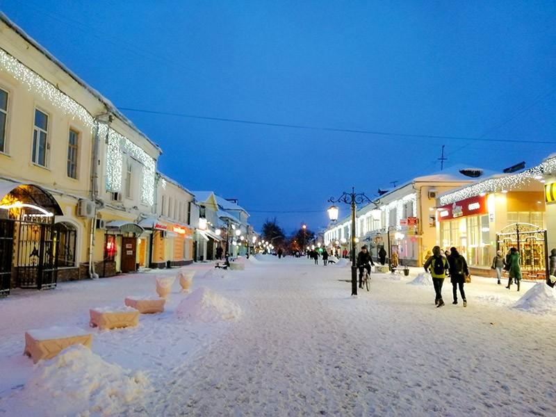 Улица Театральная в Калуге