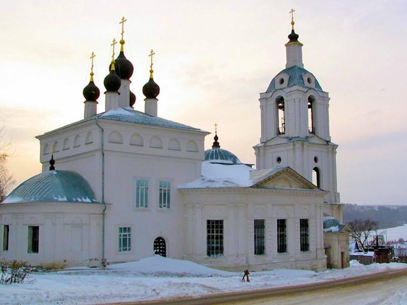 Церковь Спаса «за верхом» в Калуге
