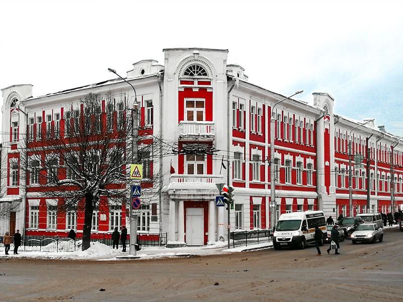 Школа имени Пушкина А.С. в Калуге