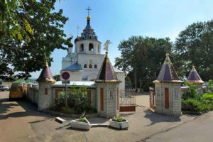 Введенская церковь Петро-Павловский монастырь