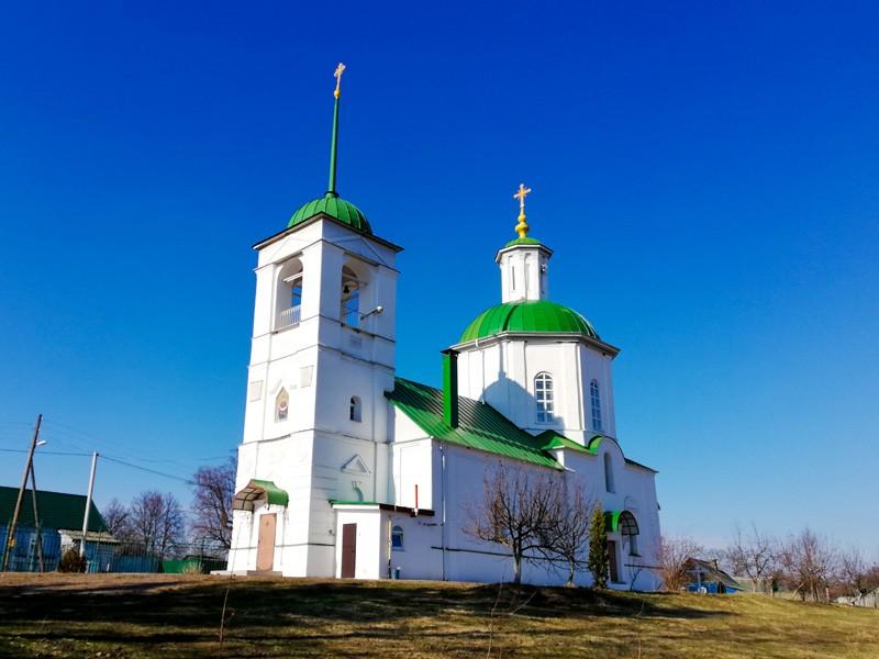 Церковь Сергия Радонежского в Мирковых Утах