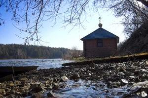 Купель Сергия Радонежского в Мирковых Утах