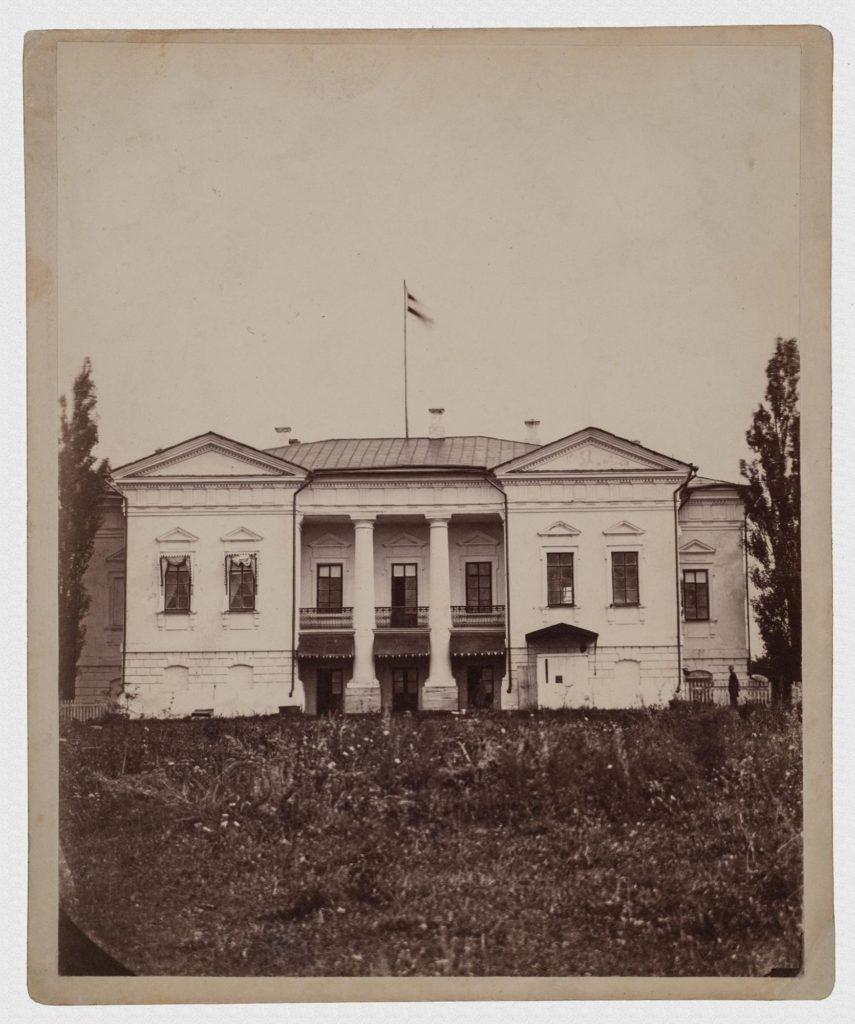 Усадьба Гулевича конец 1860-х гг.