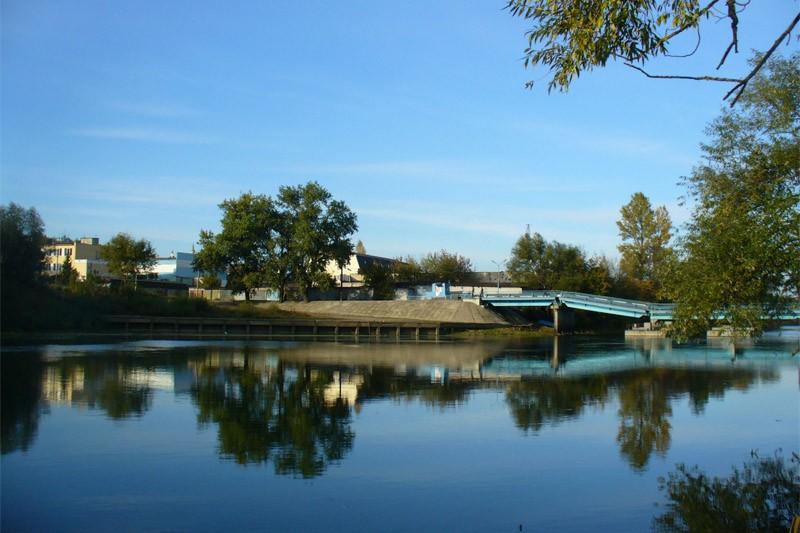 Понтонный мост через Десну