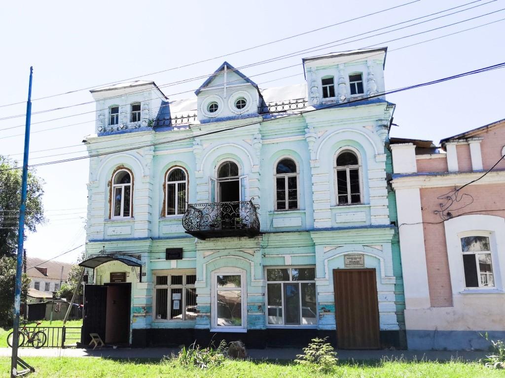 Дом краснодеревщика Сухобокова Трубчевск