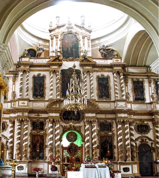 Иконостас воскресенского собора в Почепе