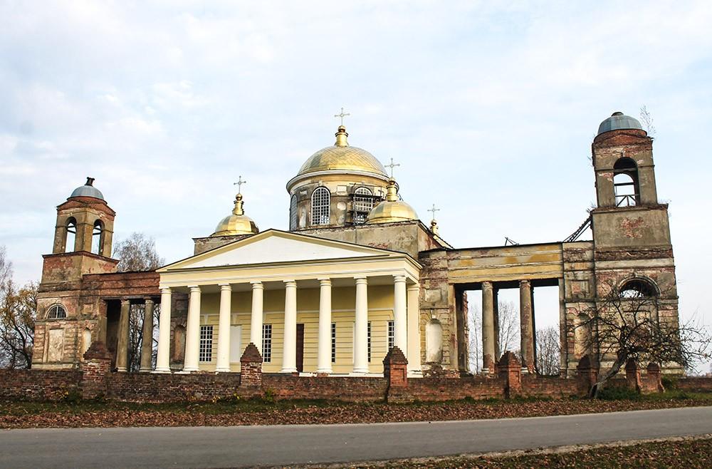 Церковь святой Екатерины в Ляличах