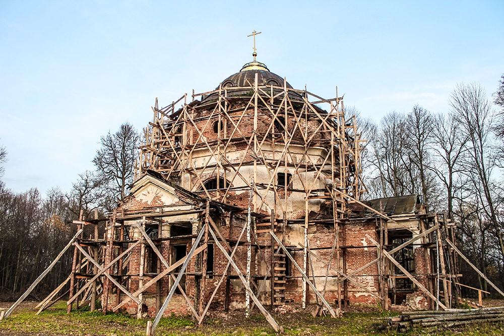 Покровская церковь Новая Романовка
