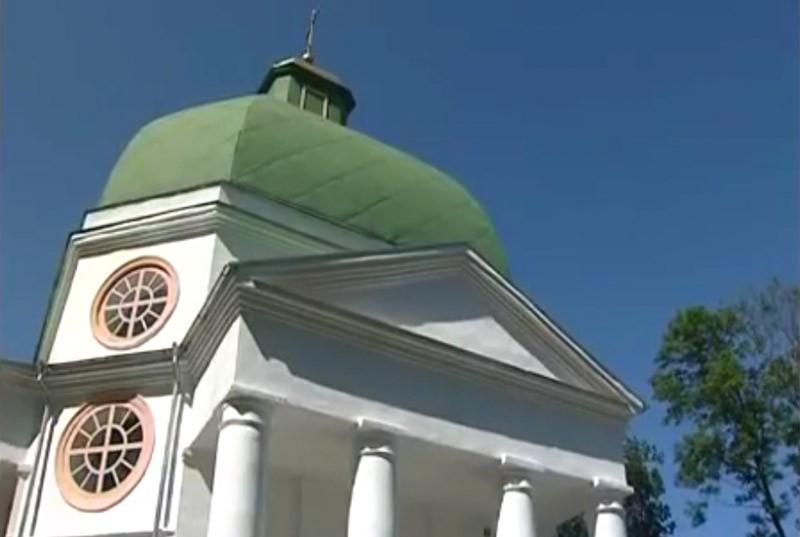Церковь святого Николая Чудотворца в селе Высокое