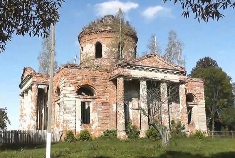 церковь Архангела Михаила в селе Разрытое