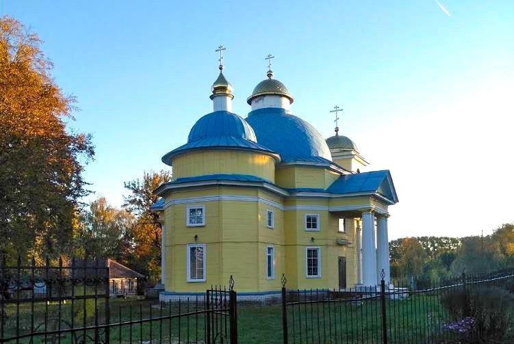 Церковь Николая Чудотворца в селе Балыкино