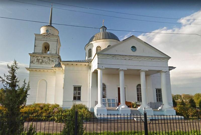 Церковь рождества Богородицы в Суворово