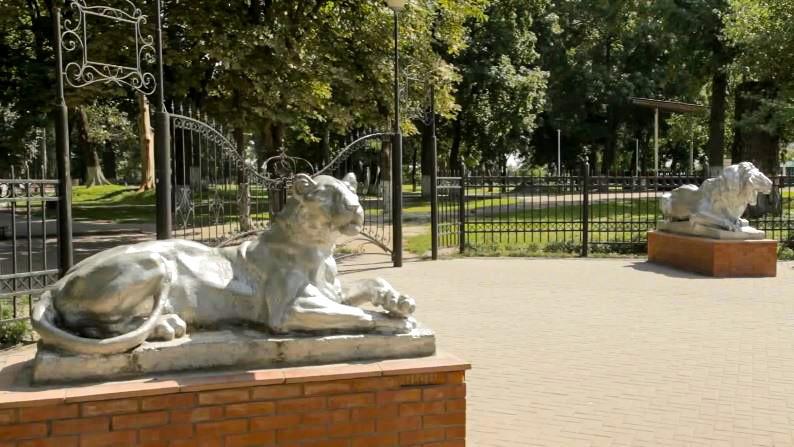Городской парк имени А.И. Рубца