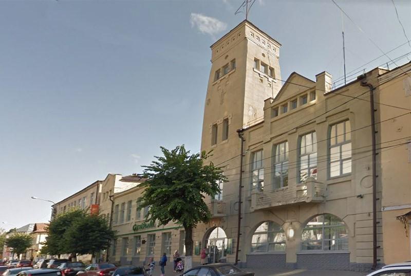 Здание городской Думы и Управы Клинцы