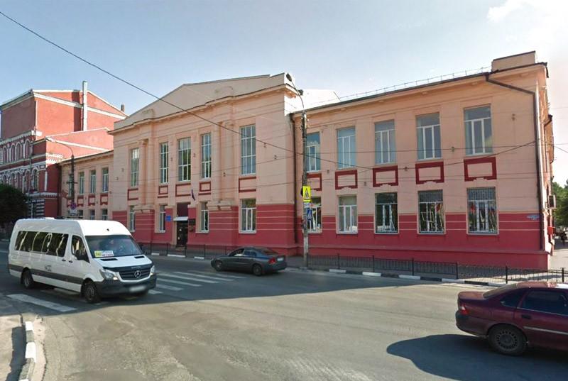 Здание мужской гимназии Клинцы