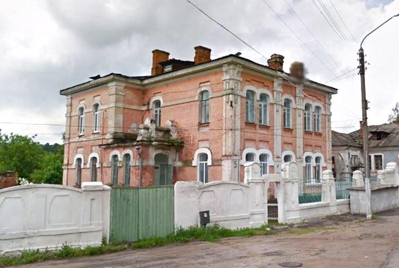 Дом специалистов глуховской фабрики Клинцы