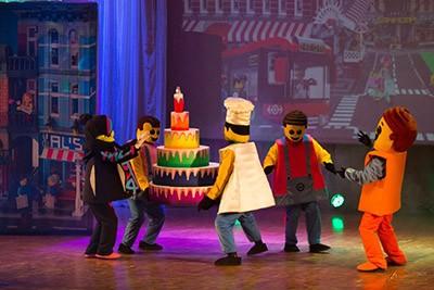 Представление «Новый год в Лего-сити»