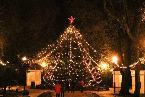 Новогодняя ночь в Брянске 2020