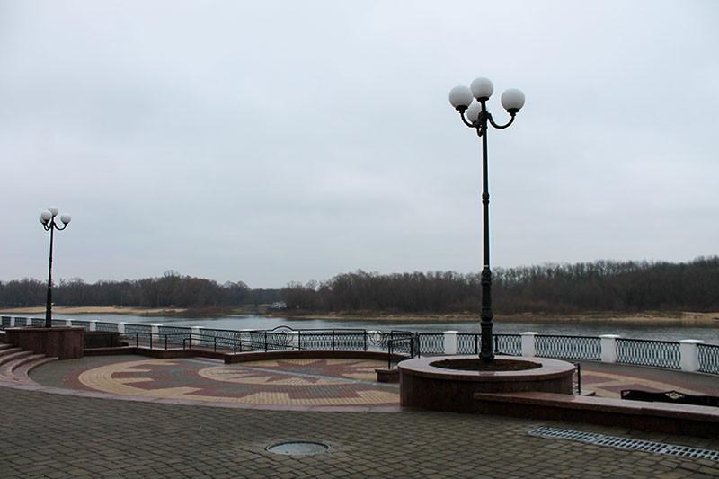 Набережная реки Сож