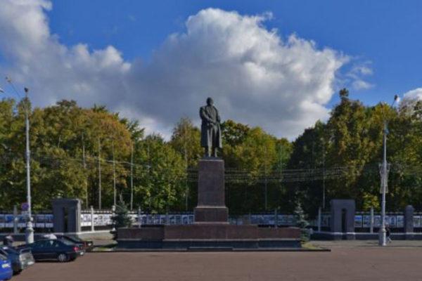 Памятник Ленину Гомель