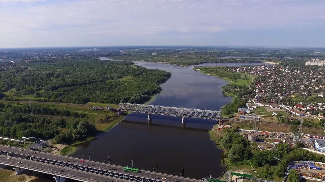 Река Сож в Гомеле