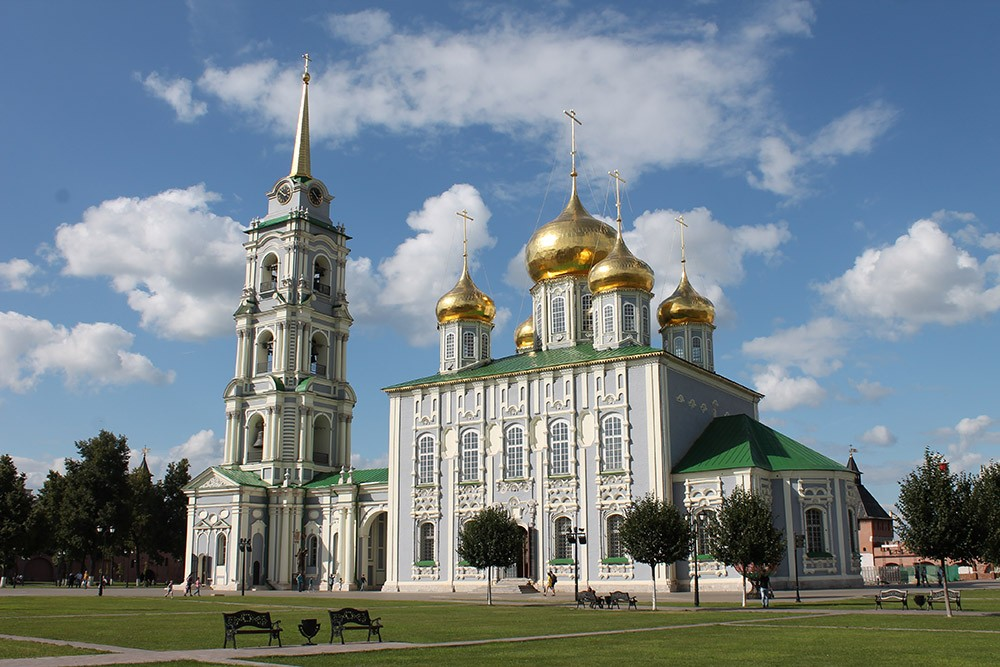 Успенский собор тульского кремля