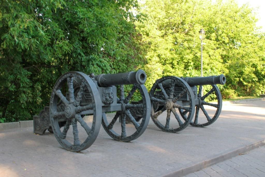 Пушки брянского арсенала