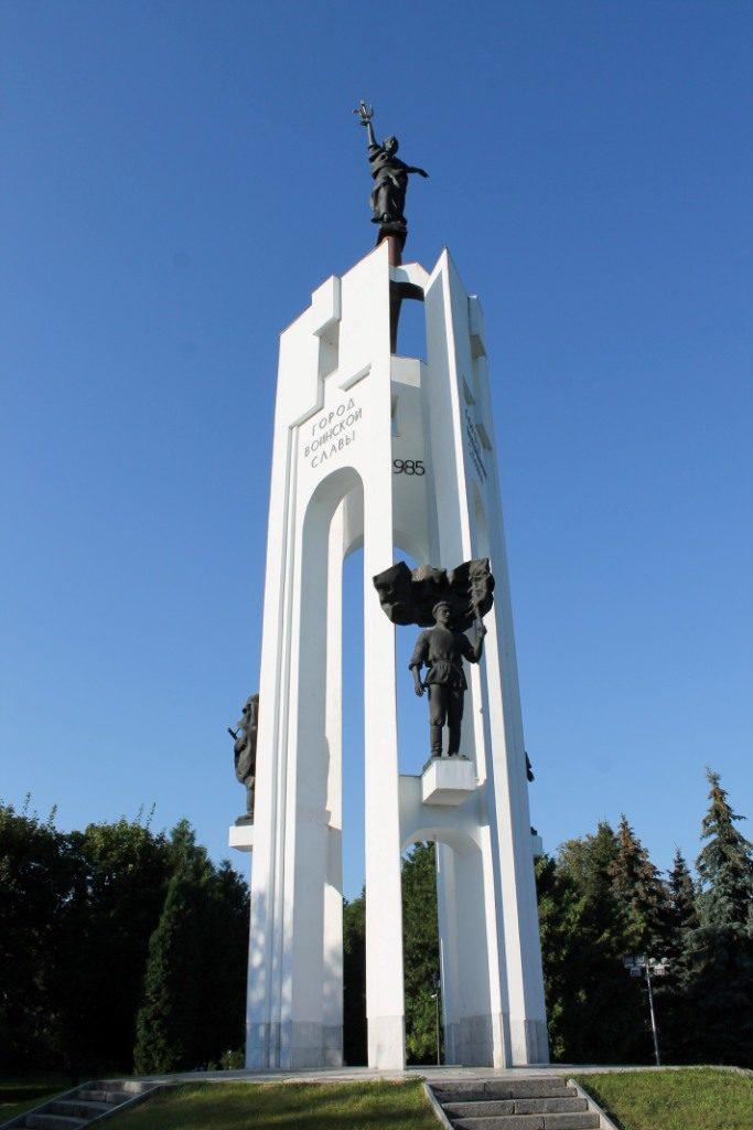 памятник в честь 1000-летия г. Брянска