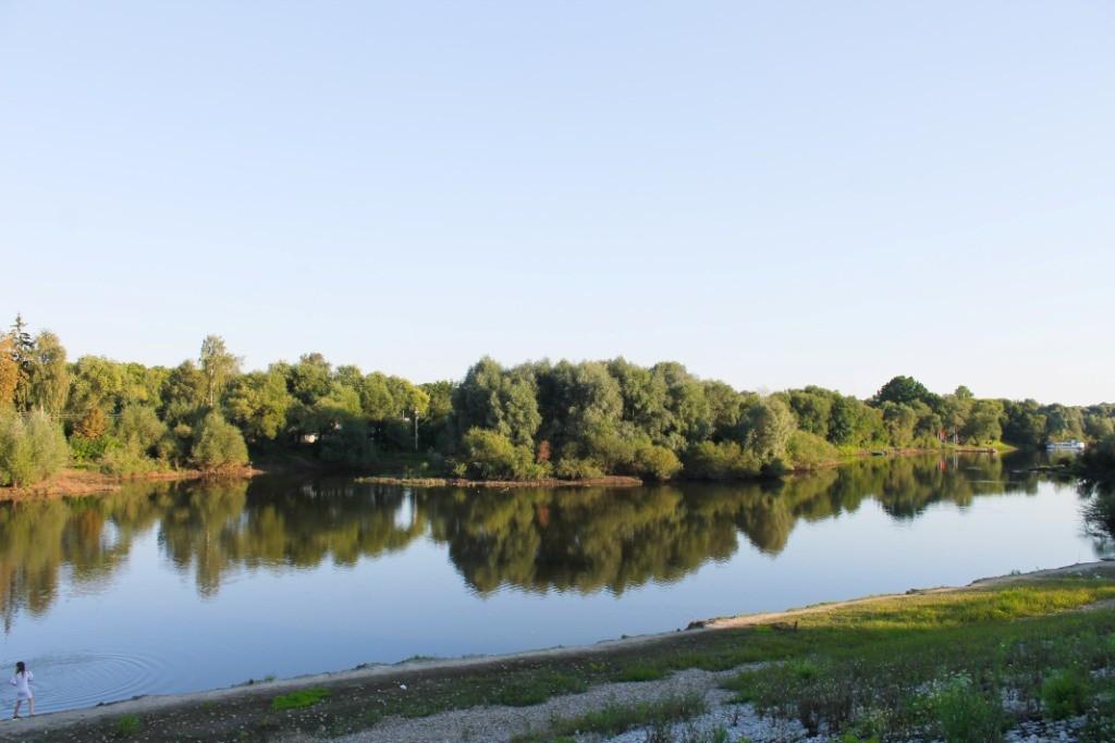 Река Десна вид с Набережной